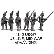US Line Mid-War, Advancing