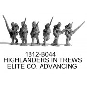 Highlanders in Trews, Flank Co. Advancing