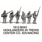 Highlanders in Trews, Center Co. Advancing