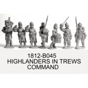 Highlanders in Trews, Command