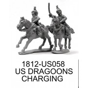 US Light Dragoons Charging