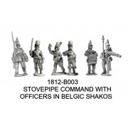 BRITISH COMMAND, STOVEPIPE AND BELGIC MIXED