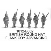 BRITISH/CANADIAN FLANK COMPANY IN ROUND HATS