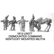 Kentucky Mounted Militia, Dismounted Command and Horse Holder