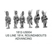 US Line 1814 in Roundabouts, Advancing
