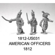 US Officers 1812