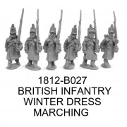 BRIT. INF. MARCHING, WINTER