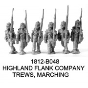 Highlanders in Trews, Flank Co., Marching